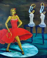 Obraz do salonu artysty Samvel Paremuzyan pod tytułem Bolero