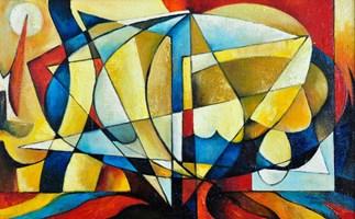 Obraz do salonu artysty Samvel Paremuzyan pod tytułem Postęp