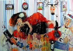 Obraz do salonu artysty Dariusz Grajek pod tytułem Wenus...
