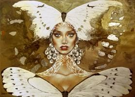 Obraz do salonu artysty Marlena Selin pod tytułem Donna Farfalla