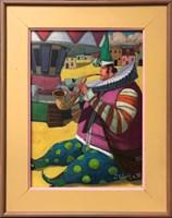 Obraz do salonu artysty Jacek Pałucha pod tytułem Wesołe Miasteczko