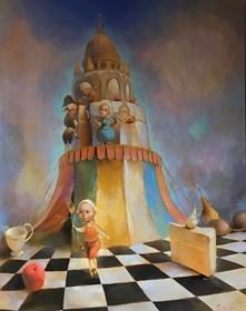 Obraz do salonu artysty Olga Pelipas pod tytułem Bez tytułu