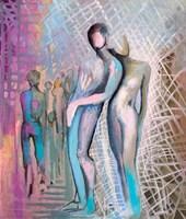 Obraz do salonu artysty Anna Lupa-Suchy pod tytułem Spacerując