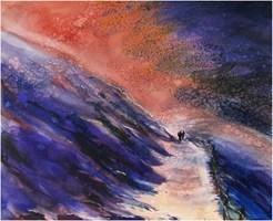 Obraz do salonu artysty Joanna Sadecka pod tytułem Wiatr