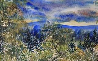 Obraz do salonu artysty Dominik Przebinda pod tytułem Chmury