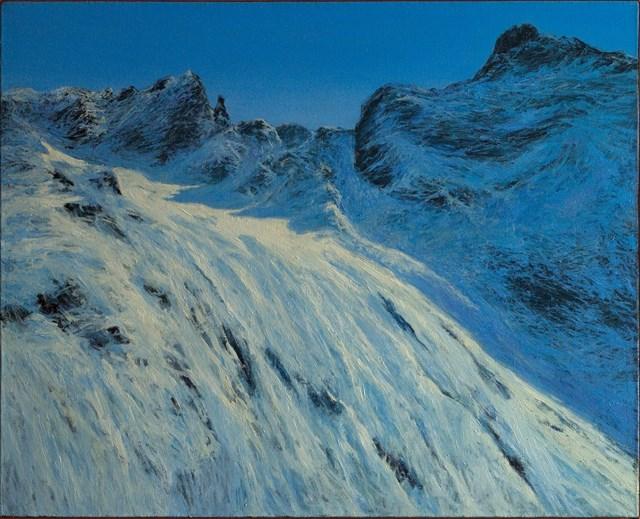 Obraz do salonu artysty Mirosław Koprowski pod tytułem Czekając na lawinę