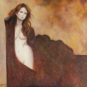 Obraz do salonu artysty Konrad Hamada pod tytułem Rudowłosa