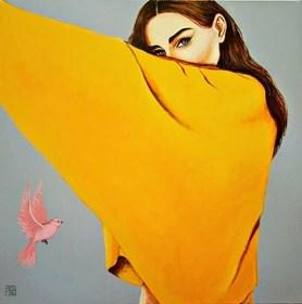 Obraz do salonu artysty Renata Magda pod tytułem One look