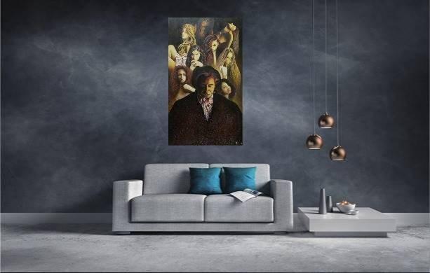 Beethoven - wizualizacja pracy autora Konrad Hamada