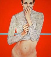 Obraz do salonu artysty Renata Magda pod tytułem Without face