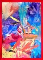 Obraz do salonu artysty Paweł Kleszczewski pod tytułem Abstrakcja / Błękit 2