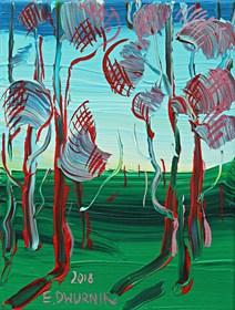 Obraz do salonu artysty Edward Dwurnik pod tytułem Sosny 1