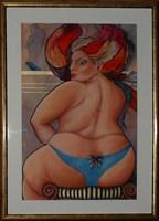 Obraz do salonu artysty Iwona Wierkowska-Rogowska pod tytułem Grunt to podstawa