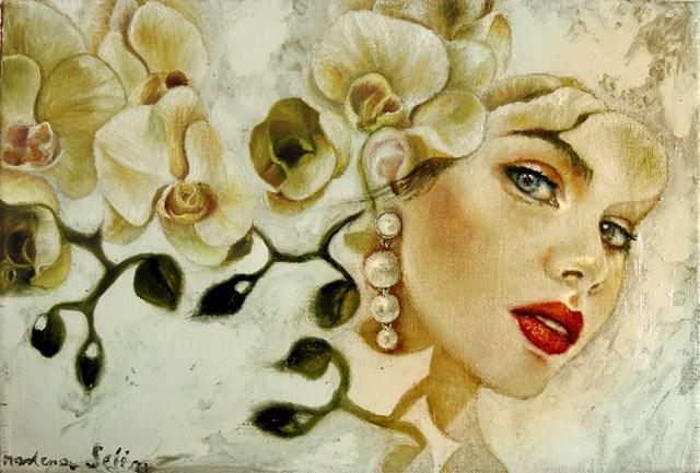 Obraz do salonu artysty Marlena Selin pod tytułem Primavera