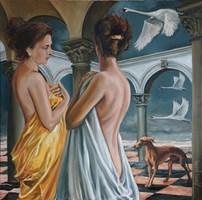 Obraz do salonu artysty Adam Kubka pod tytułem Zaginione światy 06
