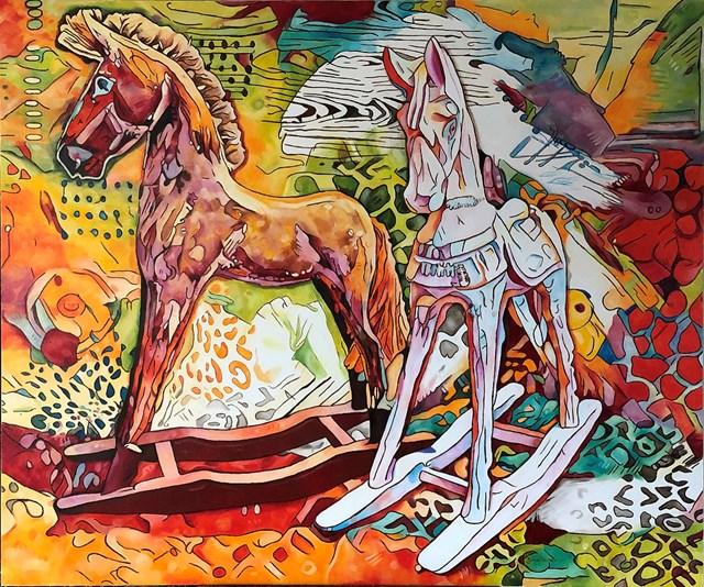 Obraz do salonu artysty Joanna Szumska pod tytułem Wielka majówka