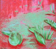 Obraz do salonu artysty Małgorzata Łodygowska pod tytułem Nenufary