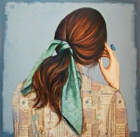 Obraz do salonu artysty Renata Magda pod tytułem Wędrujące myśli ...