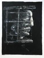 Obraz do salonu artysty Piotr Kamieniarz pod tytułem W klatce
