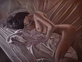Obraz do salonu artysty Mateusz Dolatowski pod tytułem Fatique