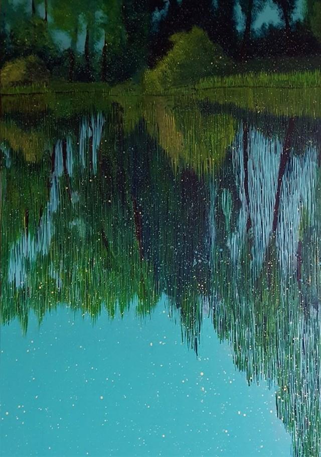 Obraz do salonu artysty Jacek Malinowski pod tytułem Paesaggio