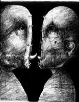 Obraz do salonu artysty Piotr Kamieniarz pod tytułem Lubieżność II