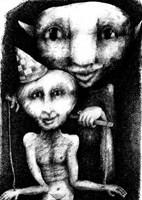 Obraz do salonu artysty Piotr Kamieniarz pod tytułem Marionetka