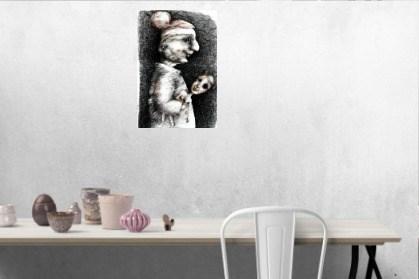 Piękna i bestia II - wizualizacja pracy autora Piotr Kamieniarz