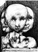 Obraz do salonu artysty Piotr Kamieniarz pod tytułem Śmierć uwodziciela
