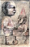 Obraz do salonu artysty Piotr Kamieniarz pod tytułem Spacer