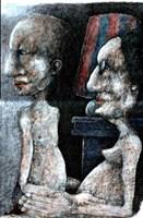 Obraz do salonu artysty Piotr Kamieniarz pod tytułem W domach z betonu nie ma wolnej miłości II