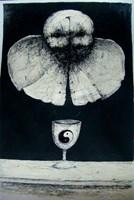 Obraz do salonu artysty Piotr Kamieniarz pod tytułem Wariacja na temat Beksiński