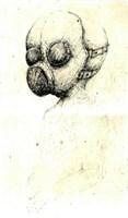 Obraz do salonu artysty Piotr Kamieniarz pod tytułem Maska 2