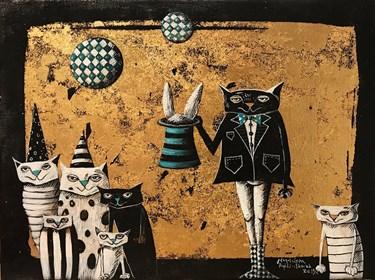 Obraz do salonu artysty Magdalena Rytel-Skorek pod tytułem Czarodziej
