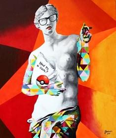 Obraz do salonu artysty Zuzanna Jankowska pod tytułem How to be cool