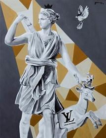 Obraz do salonu artysty Zuzanna Jankowska pod tytułem Ofiara mody
