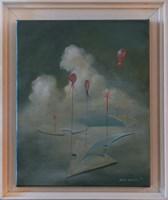 Obraz do salonu artysty Piotr Bubak pod tytułem Myśli ulotne