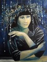 Obraz do salonu artysty Renata Kulig- Radziszewska pod tytułem Myśli atramentowe