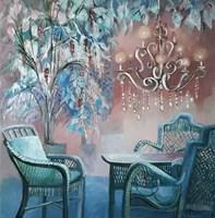 Obraz do salonu artysty Renata Kulig-Radziszewska pod tytułem Ogród zimowy