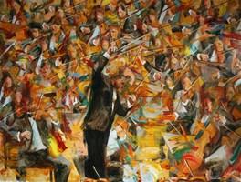 Obraz do salonu artysty Cyprian Nocoń pod tytułem Organizm