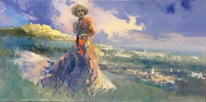 Obraz do salonu artysty Anatol Martyniuk pod tytułem Motyw włoski