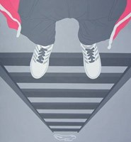 Living room painting by Viola Tycz titled Desperado