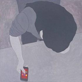 Obraz do salonu artysty Viola Tycz pod tytułem Facebook 1