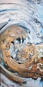 Living room painting by J. Aurelia Sikiewicz-Wojtaszek titled Creation