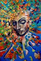 Obraz do salonu artysty Łukasz Jankiewicz pod tytułem Portret Intymny