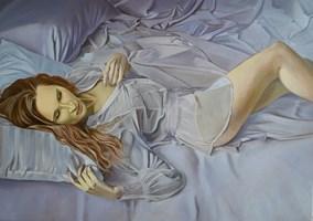 Obraz do salonu artysty Mateusz Dolatowski pod tytułem Moments of silence