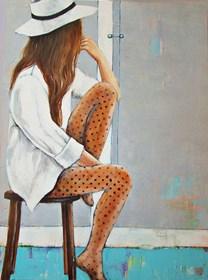 Obraz do salonu artysty Renata Magda pod tytułem Węrujące myśli ...