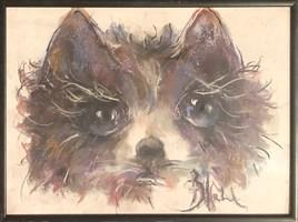 Obraz do salonu artysty Bożena Wahl pod tytułem Bez tytułu 005