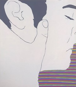 Obraz do salonu artysty Viola Tycz pod tytułem Moja tęcza II