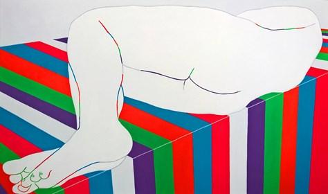 Obraz do salonu artysty Viola Tycz pod tytułem Na krawędzi